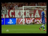 Суперкубок Уефа Бавария - Челси Гол Рибери 1:1